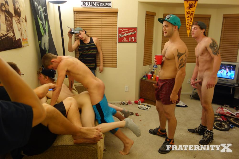 Fraternity-X-Jay-College-Frat-Guys-Fucking-Bareback-Big-Cocks-Amateur-Gay-Porn-03 Redhead College Frat Guy Takes Bareback Cocks In Both Holes