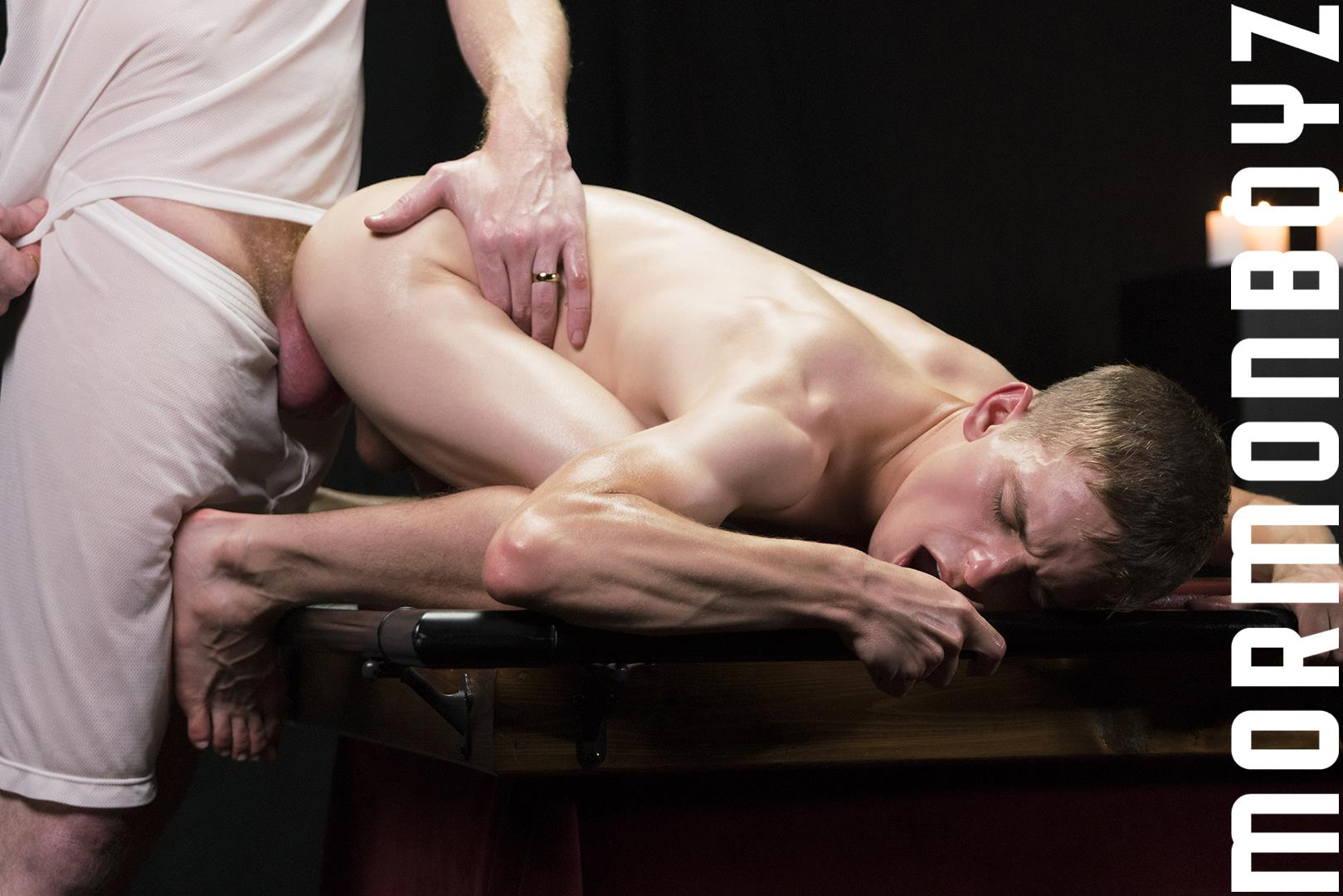 Mormon-Boyz-Older-Big-Dick-Daddy-Barebacking-Younger-Twink-Gay-Sex-Video-23 Mormon Missionary Twink Takes A Thick Daddy Cock Up The Ass Raw